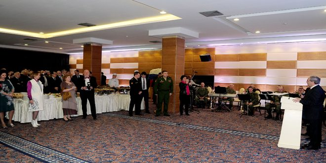 Reception marking the Russian Army Day held at Russian Embassy
