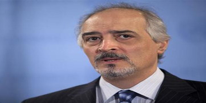 Al-Jaafari: Canceling UNSC session on Syria is political message to western states which try to manipulate it