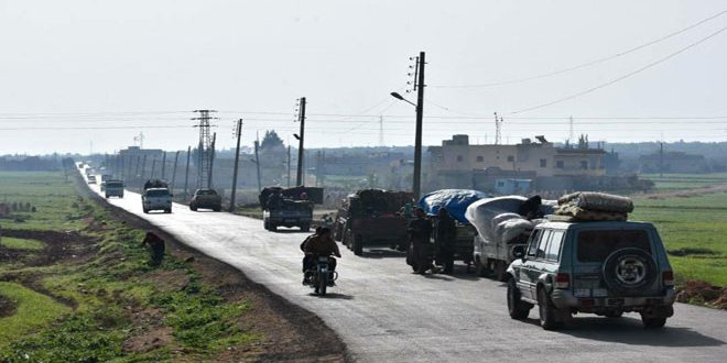Turkish forces invade city of Afrin, displacing its locals