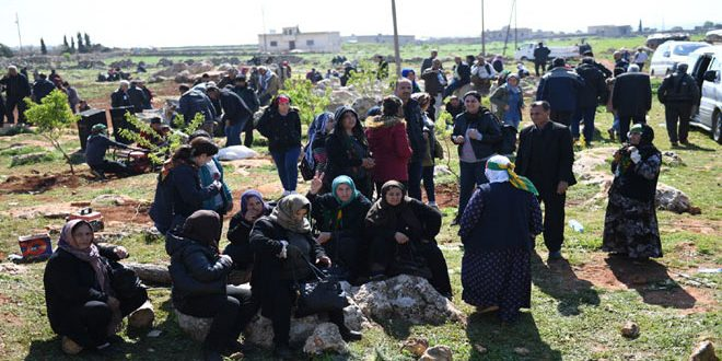 UN: Nearly 170,000 persons fled Afrin due to Turkish aggression