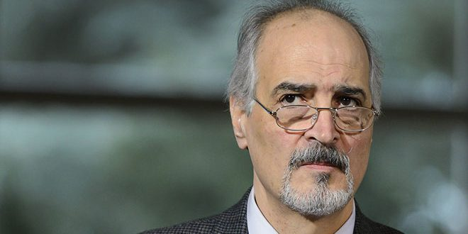 Al-Jaafari: The West's fuss about Syria will fade away as terrorists' defeats continue