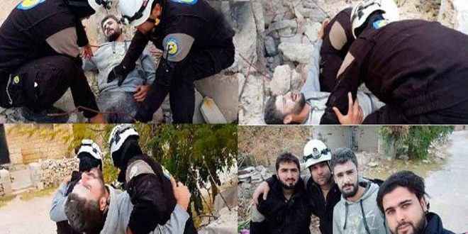 "Israeli entity smuggles 800 members of ""White Helmets"" from southern Syria to Jordan"