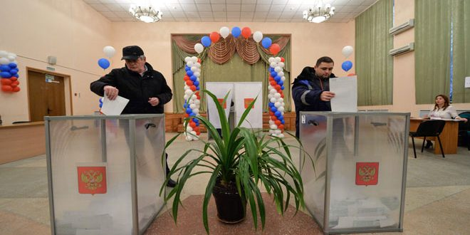 Russian voters elect new president for the country