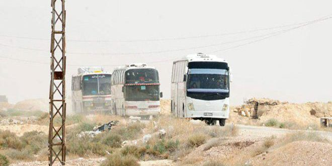 Update-Terrorists start leaving al-Rheibeh, Jairoud and al-Nasseriyeh