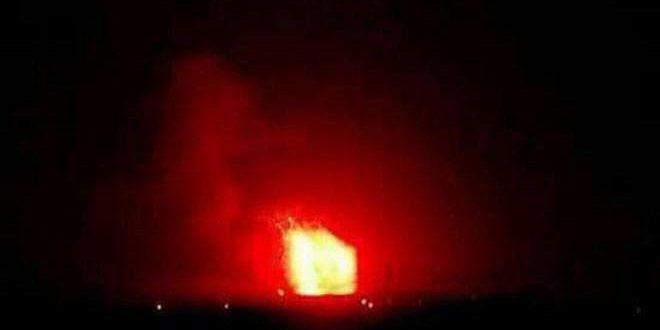 Взрывы на военных базах в Сирии