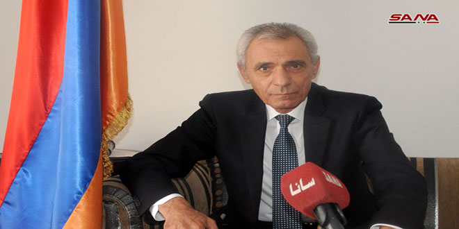 Armenian Ambassador: Turkish acts in Syria are extension of what they committed against Armenians