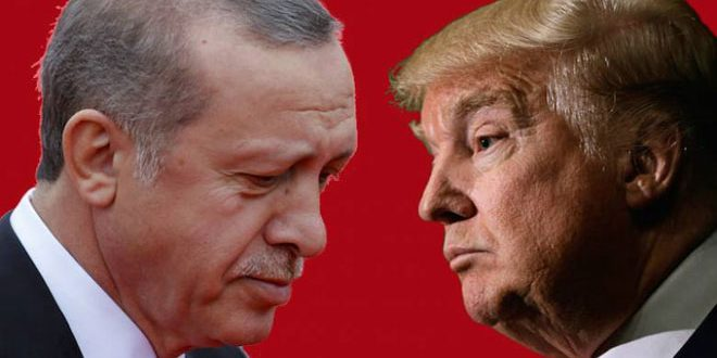 Erdogan: Washington has been providing thousands of weapon-laden trucks to terrorists in Syria