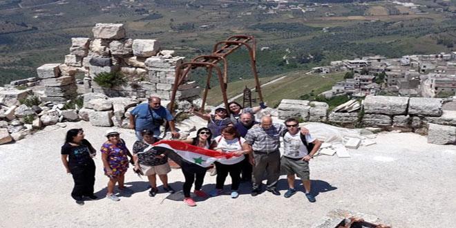 From Argentina Syrian Expatriates Visit Syria Tour Tourist