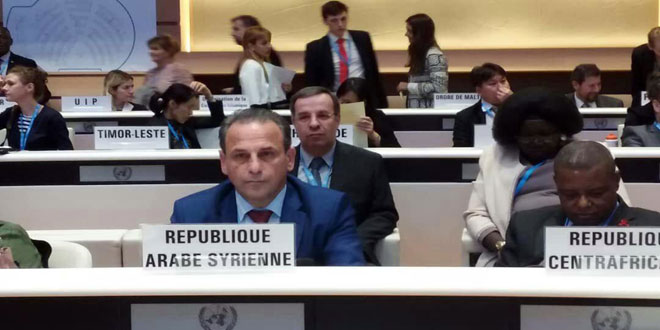 WHO adopts resolution on improving health situation of citizens of occupied Syrian Golan