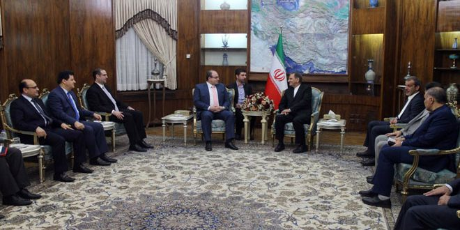 Jahangiri: Tehran stands by Syria during reconstruction process