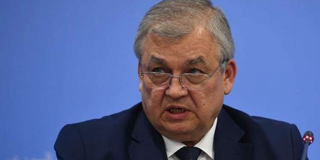 Lavrentiev: Russia determined to fight terrorism in Syria