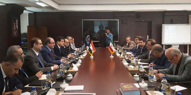 Syria, Iran discuss enhancing economic cooperation