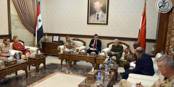 Defense Minister, UN delegation discuss coordination on redeployment of UNDOF in disengagement zone
