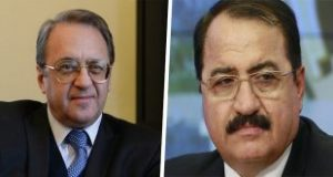 Bogdanov, Haddad discuss return of refugees to their Homeland