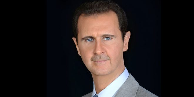 President al-Assad receives cables of congratulation on Eid Al-Adha