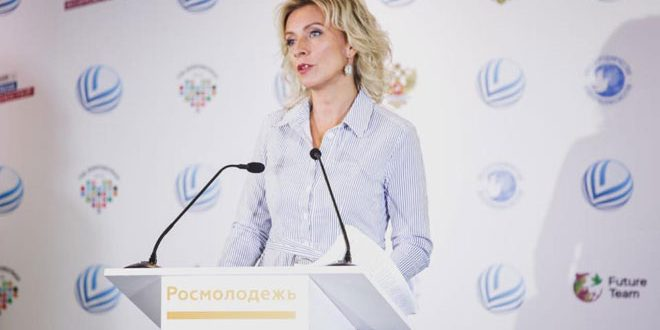 Zakharova: UN supports disinformation campaign regarding so-called White Helmets