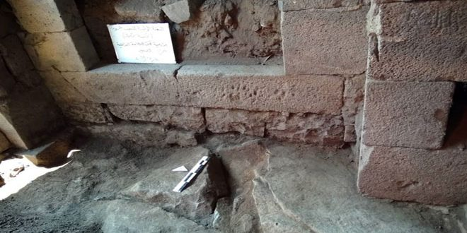 New archeological findings at Great Church site in Sweida dating back to classical eras