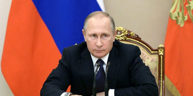 President Putin: Israel to blame for downing IL-20 plane near Lattakia