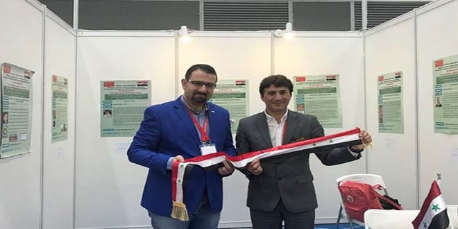 Syrian inventors win 15 medals at int'l exhibition in China