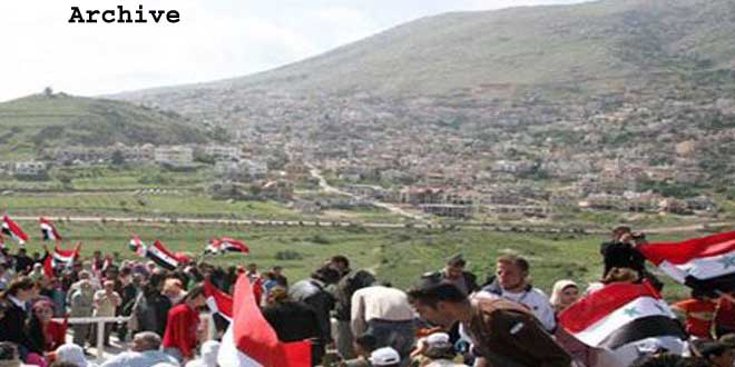 Syrians in occupied Golan call for exerting pressure on Israel to open Quneitra crossing