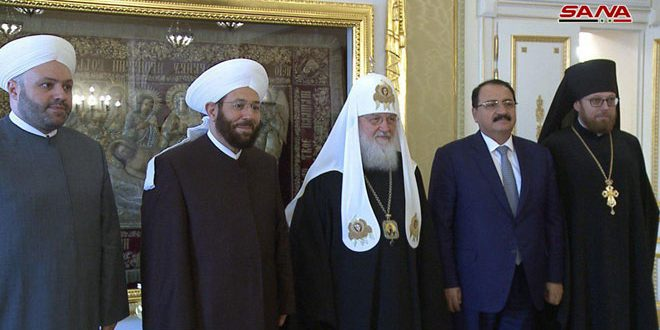 Patriarch Kirill: We are determined to continue helping Syrian people