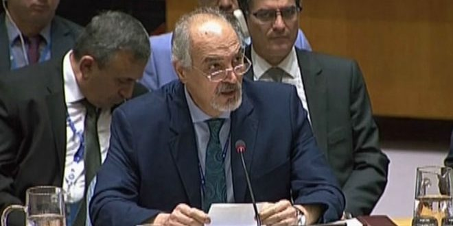 Al-Jaafari: The West plotted for the war on Syria in service of the Israeli interests