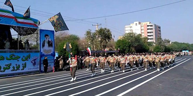 10 IRGC forces killed in terrorist attack on military parade in Iran