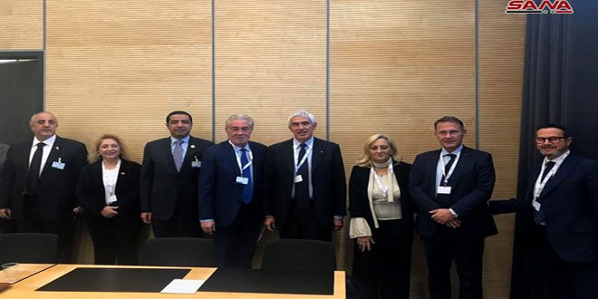 People's Assembly delegation to IPU in Geneva meets Italian and DPRK delegations
