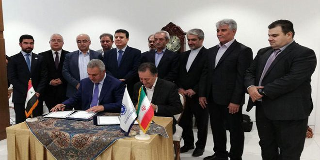 Syria, Iran agree on establishing joint chamber of commerce