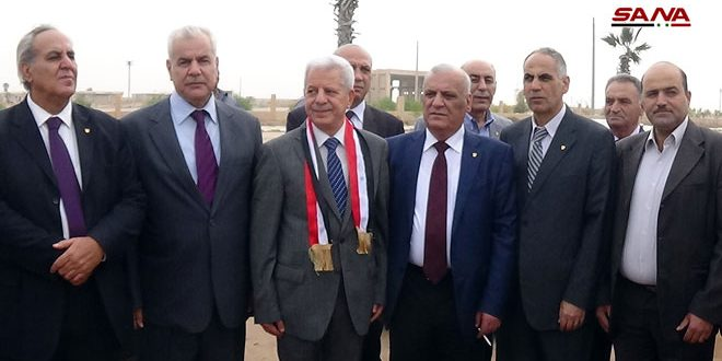 Jordanian delegation arrives in Syria via Nassib crossing