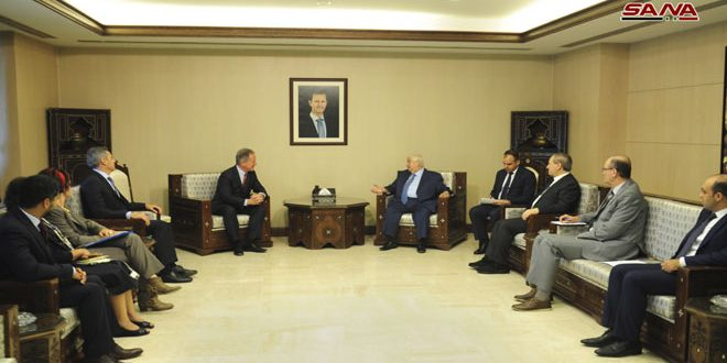 Al-Moallem: Syrian government pays great attention to the return of refugees and displaced