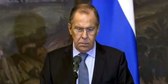 Lavrov: Eliminating remaining terrorist organizations in Syria continues