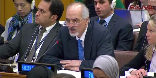 Al-Jaafari reiterates call on UN member states to vote against Saudi draft resolution on Syria
