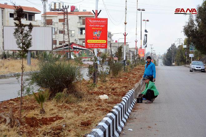 Al-Zabadani Municipality: 4,500 families returned to city