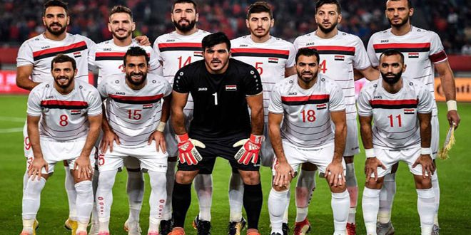 Image result for syrian football team 2019