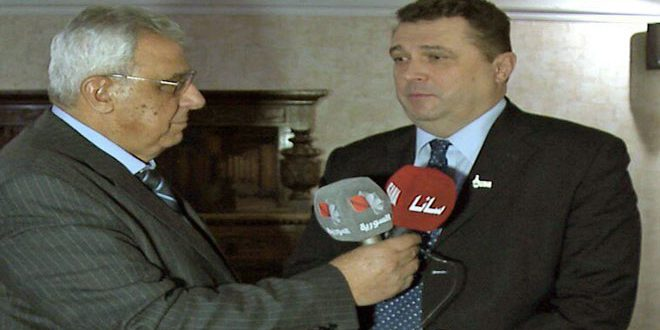 Solovyov hails Syrian journalists' professionalism in conveying reality of ongoing events in Syria
