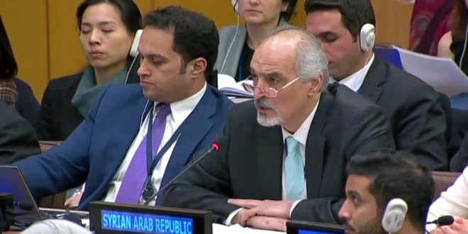 Al-Jaafari: Saudi Arabia lacks the minimum standards of UN Charter respect, International Laws principles and human rights