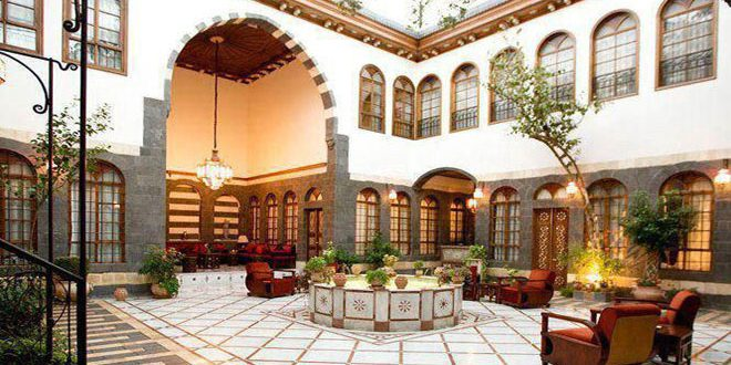 Ancient-fashion Damascene houses, unique style of architecture amazes visitors