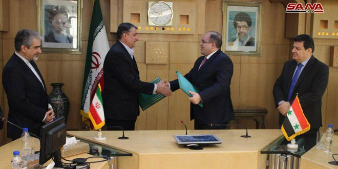 Syria And Iran Sign A Long Term Strategic Cooperation Agreement