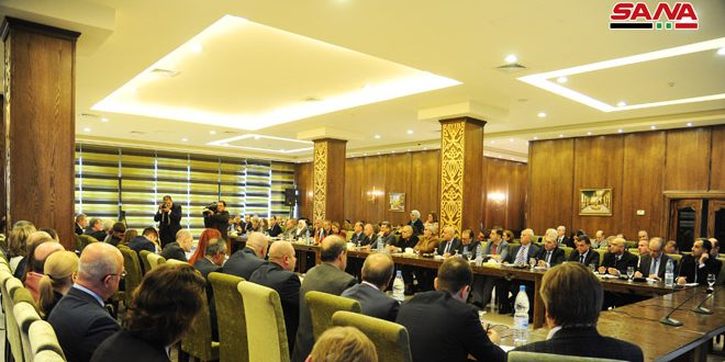 Over 20 cooperation documents discussed by Joint Syrian-Russian Committee