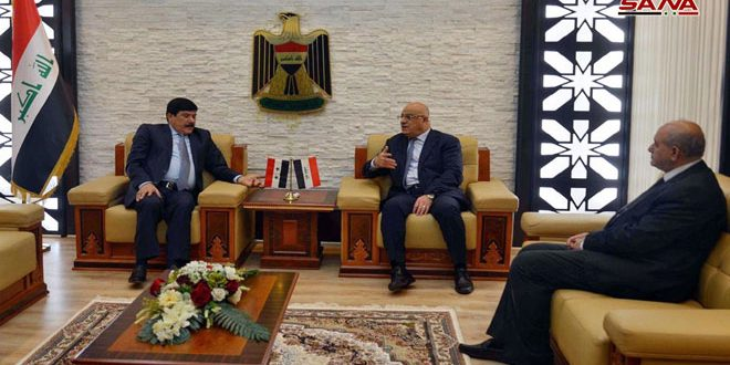 Syria, Iraq discuss enhancing economic and trade relations