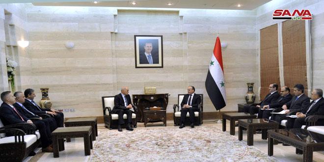 PM Khamis to Slovak delegation: Terrorist war against Syria failed