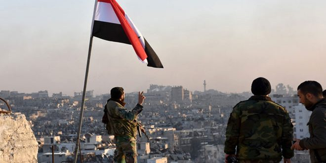 Almost 2 years after liberating Aleppo, a tremendous victory over terrorism, its backers