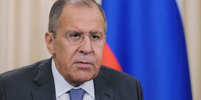 Lavrov calls for unifying efforts to push political process in Syria forwards