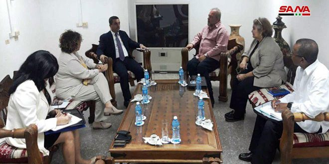 Marrero affirms Cuba's standing by Syria, desire to enhance cooperation