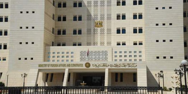 Foreign Ministry: statements of Turkish regime president stress that he can't behave except by language of occupation and aggression
