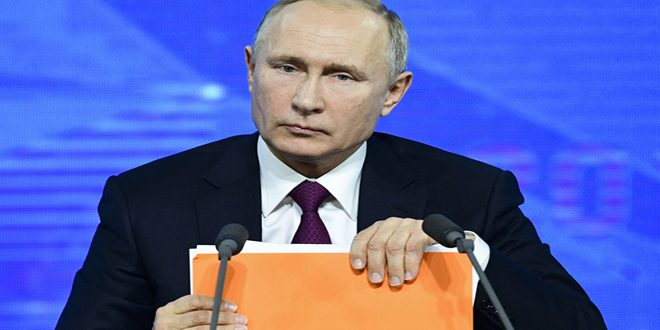 Putin reiterates Russia's support to political settlement to crisis in Syria