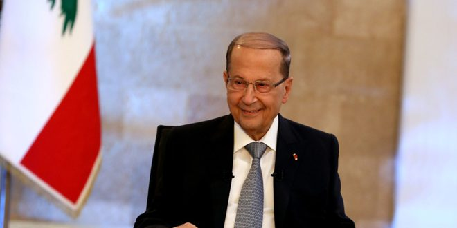 Aoun: Trump's recognition of annexing Golan to Israeli occupation entity contradicts with Security Council's resolutions