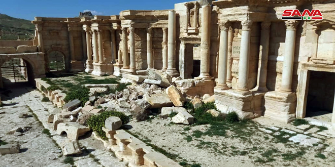 Shoigu: Russia will share files on restoring Palmyra to UNESCO