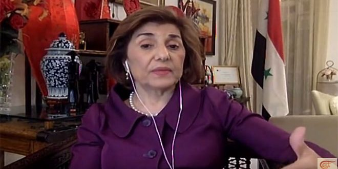 Shaaban: China's invitation to Syria to participate in Belt and Road Forum defies US sanctions